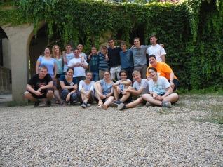 A tábor szervezőcsapata